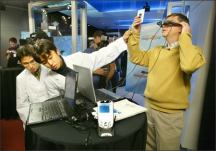 Gates Imagine Cup: Students try out an invention at one of Microsoft&#039;s world-renowned Imagine Cup competitions